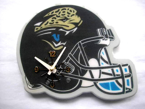 NFL Jacksonville Jaguars NFL Helmet Wall Clock