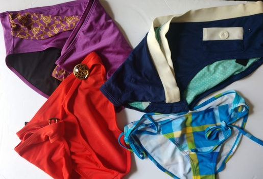 4 Pieces Of Swimming Suit Bottoms