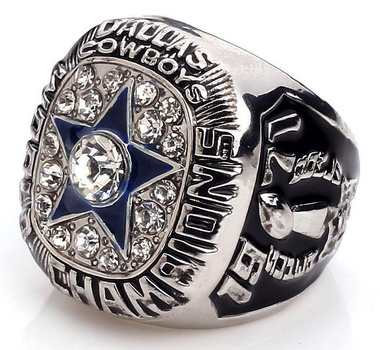 Roger Staubach Cowboys Super Bowl VI Championship Replica Ring Size 10