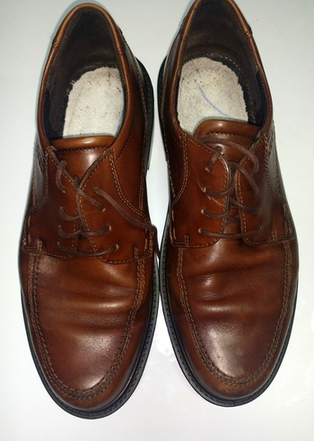 Ecco Leather Men's Shoes, Size 42 (US 9) MADE IN Denmark