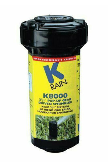 Sprinkler Head K Rain K8000 New with Key