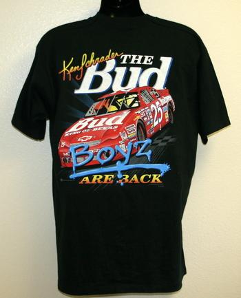 NASCAR Ken Schrader Classic Men's Shirts Size Small