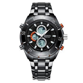 New Barkers Of Kensington Grey Mega Sport Men's Watch