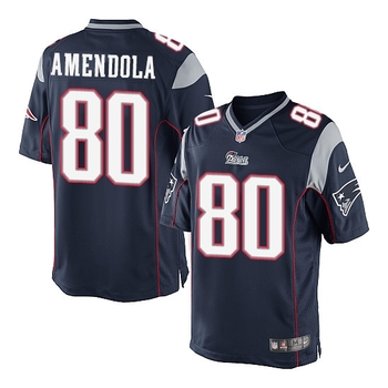 NFL Patriots Authentic Amendola Game Jersey Size Large