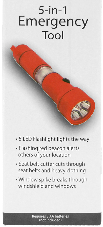 Emergency Tool Flashlight With Multiple Functions (5)