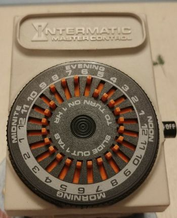 Vintage InterMatic Master Control Program Timer
