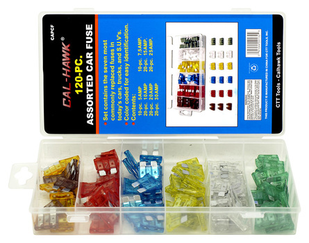 120-pc. Assorted Car Fuse