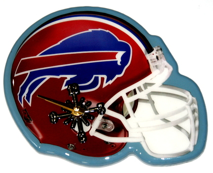 NFL Buffalo Bills Helmet Wall Clock