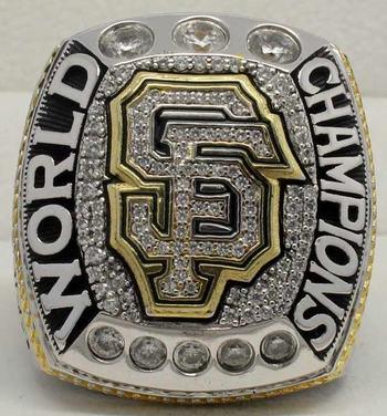 MLB San Francisco Giants 2014 World Series Championship Replica Ring Size 11