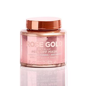 Rose Gold Luxury Metallic Peel Off Mask 24K Gold And Rose Hip QVC Product