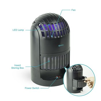 New LED Smart Indoor Mosquito Traps with Vacuum See Video Attached Great Price