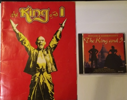 King and I CD & Show Program