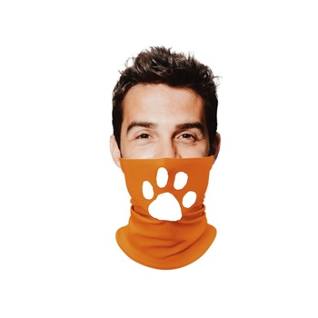 New NFL CLEMSON GA Gaiter Multi Use Scarf Face Orange