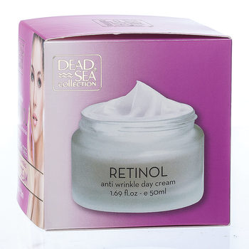 New DEAD SEA Collection Anti-Wrinkle RETINOL Day Cream