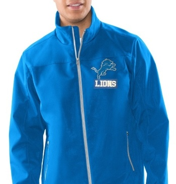 Detroit Lions Full Zip Jacket, Size 2X-Large