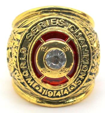 St Louis Cardinals World Series 1944 Champions Replica Ring Size 10
