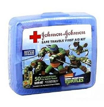 Teenage Mutant Ninja Turtles Red Cross Safe Travels First Aid Kit