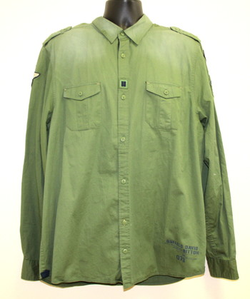New Buffalo David Bitton Men's Button Down Shirt Size XX-Large