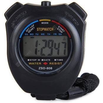 Precise Electronic Stopwatch LCD Sport Watch