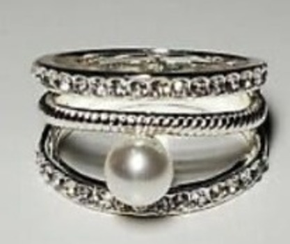 Crystal All-Around Ring, Created for Macy's Size 9