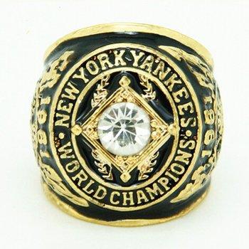 MLB New York Yankees 1978 World Series Replica Ring Size 10