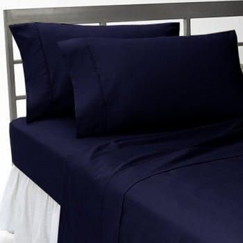Sound Sleeping 4-Piece Brushed Microfiber Bed Sheet Set - Wrinkle - Fade - Stain Resistant - Hypoallergenic QUEEN