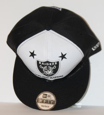 NFL Raiders New Era Hat OSFM