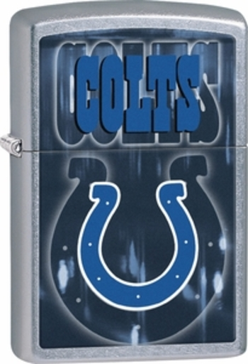 NIB Zippo Lighter Collectible NFL Indianapolis Colts Made In USA