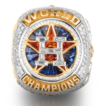 MLB Houston Astros 2017 World Series Championship Replica Ring Size 11