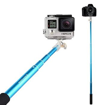 Camera Selfie Stick with Bluetooth Control And Adjustable Phone Holder