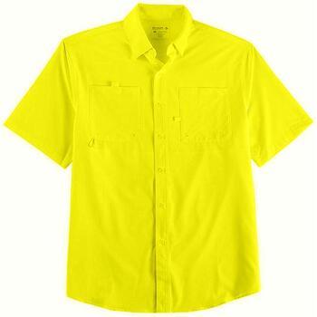 New Reel Legends  Mens Shadester Short Sleeve Shirt Size Large