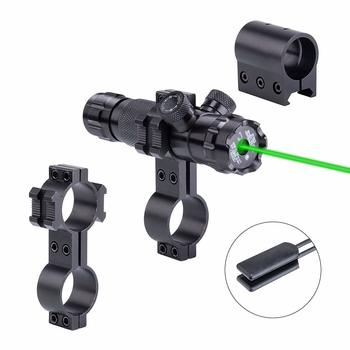 New Hunting Rifle Green Laser Sight Dot Scope < 5mw Adjustable with Mounts
