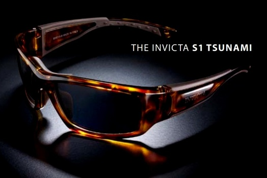 NEW MADE IN ITALY  Invicta Tortoise Tsunami Sport Sunglasses
