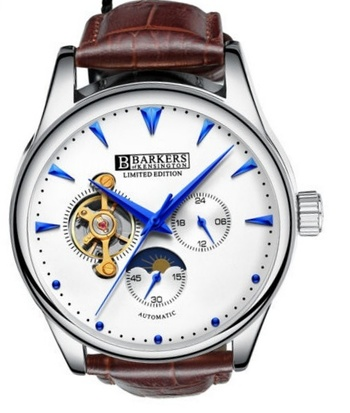 New Barkers of Kensington Aero Sport Watch Retail $725.00 NEW
