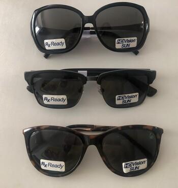 New HD Vision Polarized Sunglasses Set of 3