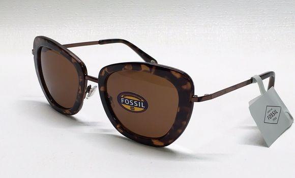 New Fossil Women's Cat Eye Sunglasses