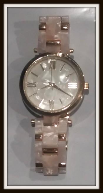 INC Women's Crystal Accent Bracelet Watch 30mm Retail $89.99