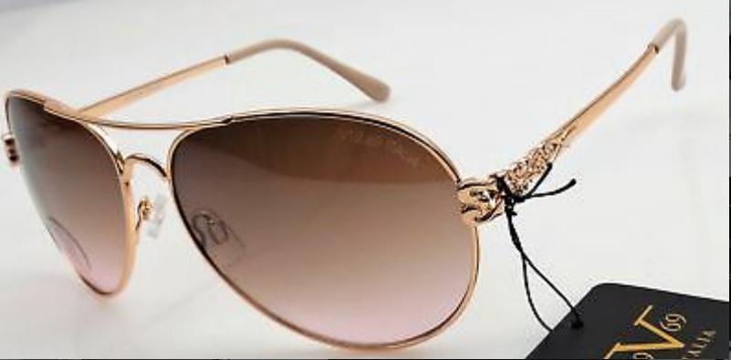 9054f03b1eb0 New 19V69 Italia VERSACE 1969 Aviator Sunglasses 100% UV