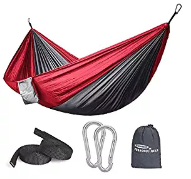 Peachy New Hammock Single Double Camping Portable Parachute Hammock Download Free Architecture Designs Itiscsunscenecom