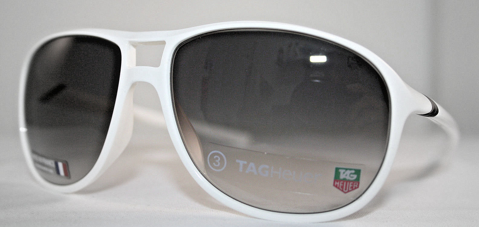 ec9972ee616e Made In France Tag Heuer 27 Degree 6043 107 6043107 Oval Sunglasses ...