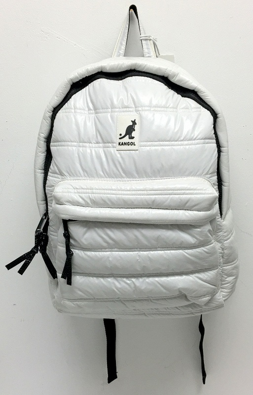 39c8b2aa4c New Kangol Heritage White Unisex Laptop Bubble Backpack