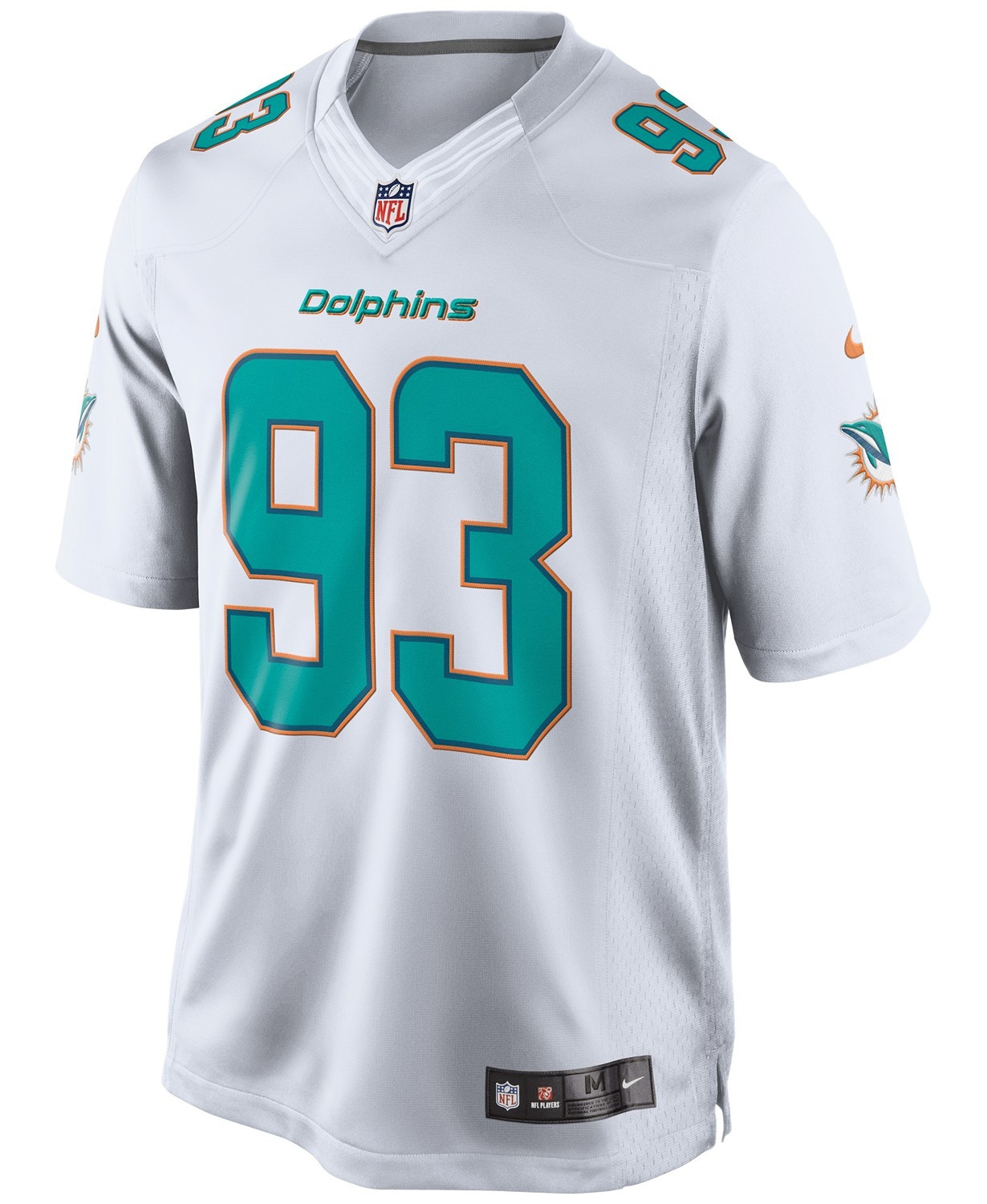 size 40 ea7ad bb761 NFL Men's Ndamukong Suh Miami Dolphins Jersey Size Large ...