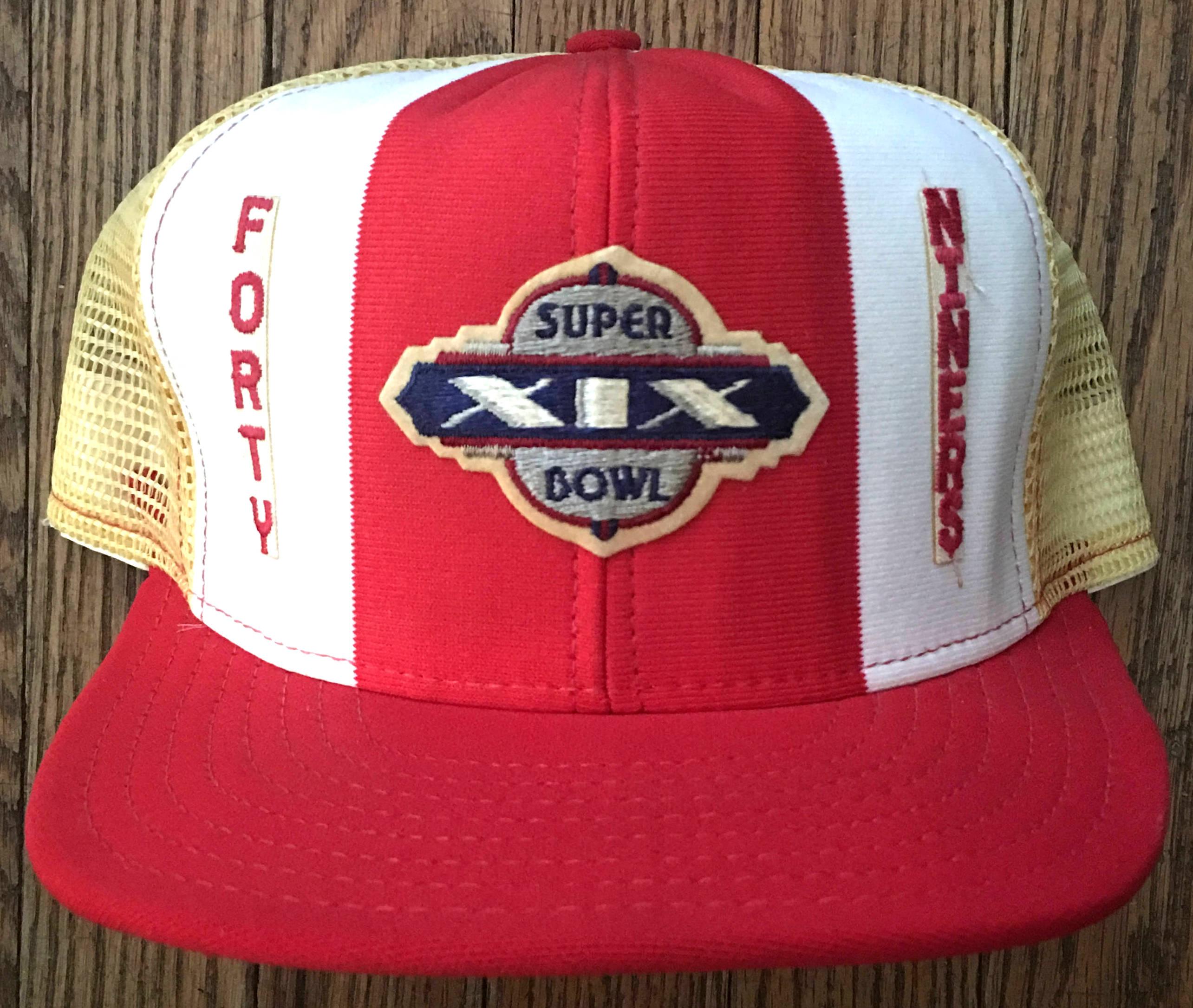 c7e77dfd NFL Vintage San Francisco 49ers Super Bowl XIX Snap Back Hat ...