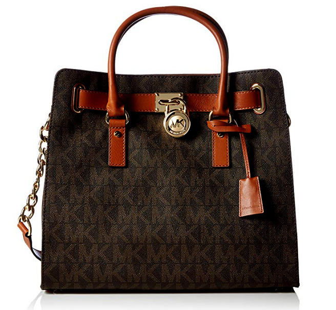 Michael Kors Large Hamilton Women S Handbag Tote Shoulder Bag Retail 398 00