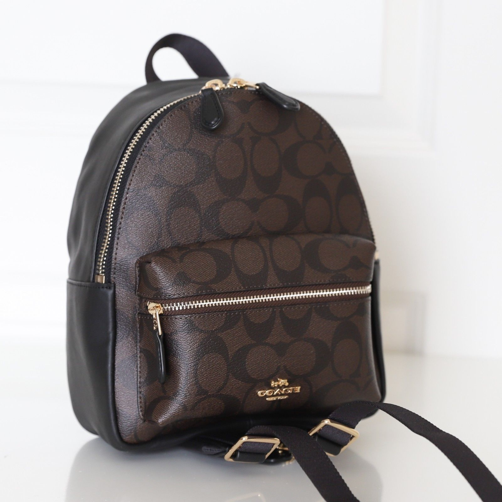 41f843661d10 ... uk new coach mini charlie backpack in signature retail 295.00 37104  ac656