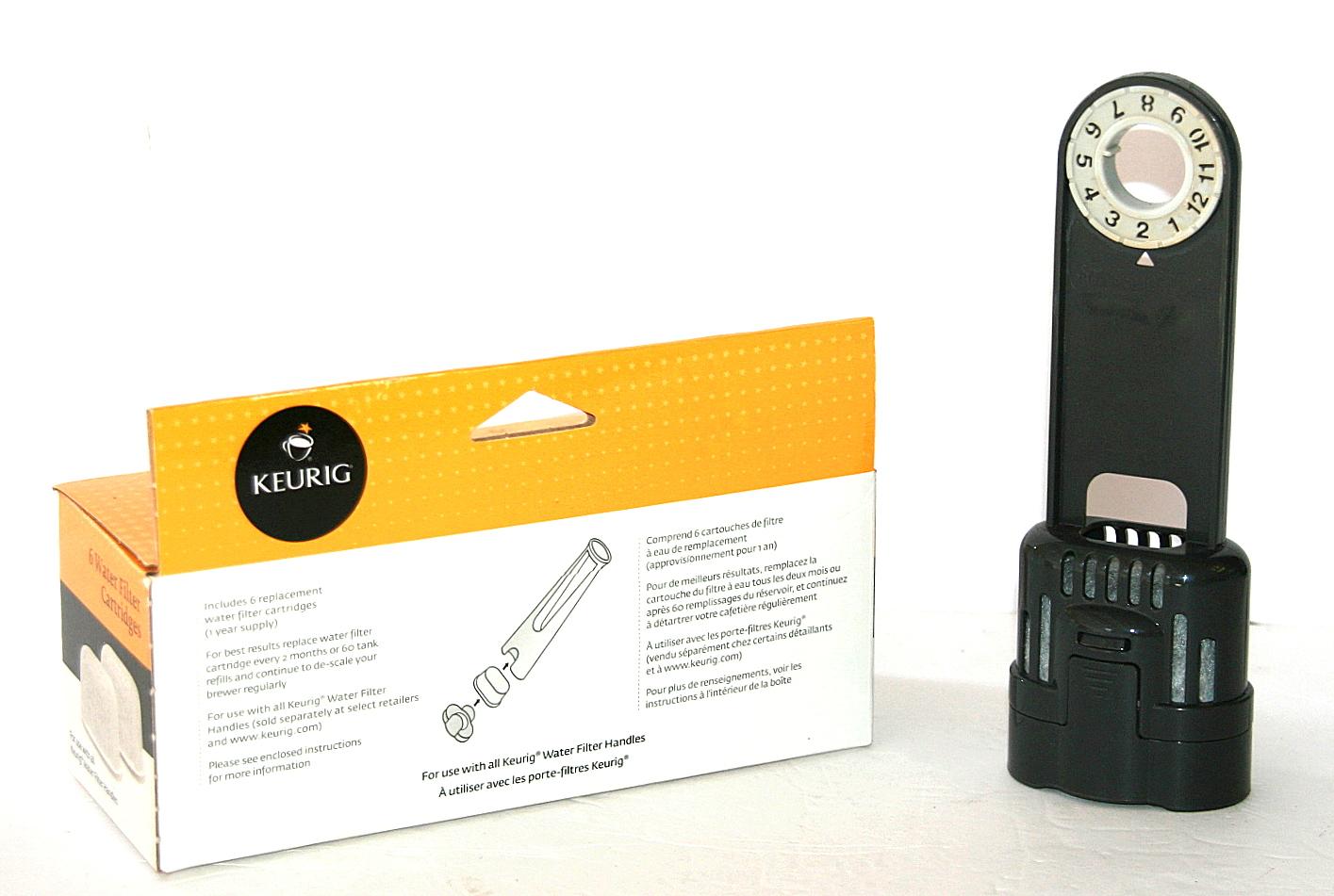 keurig water filter cartridges