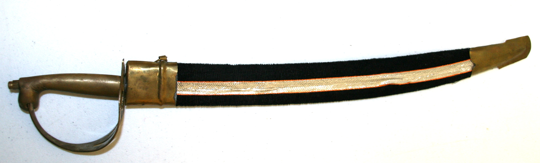 Made In India Very Rare Mini Sword 17 Brass Handle Circa