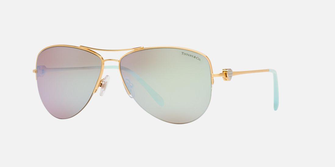 96e3e8d26ad3 Made In Italy TIFFANY   CO Aviator Mirror Sunglasses Retail  688.00 Polarize
