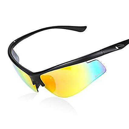 cb5558278ad Image 1 of 4. HODGSON Polarized Sports Sunglasses for Men or Women