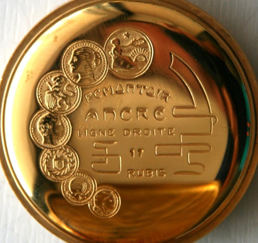 Arnex 17 Jewel Incablock Swiss Pocket Watch Property Room